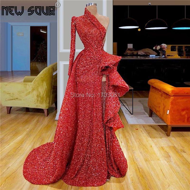 Transparent Hohe Split Schlitz Celebrity Abendkleider Party Lange 2019 Robe De Soiree Couture Dubai Prom Kleid Muslimischen Türkischen