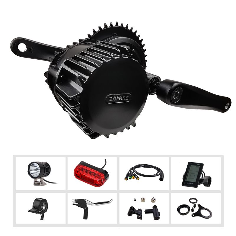 Bafang BBSHD E Bike Kit Mitte Antrieb Motor e-Bike Conversion Kit 48V 1000W BAFANG Motor 8fun BBS BBS03 Elektrische Fahrrad Motor Set