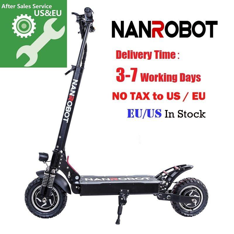 NANROBOT D4 + Verbesserte Erwachsene Elektrische Roller 10