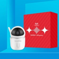 SANNCE Home Security IP Camera Wi-Fi Wireless Mini Network Camera Surveillance Wifi 1080P Night Vision CCTV Camera Baby Monitor