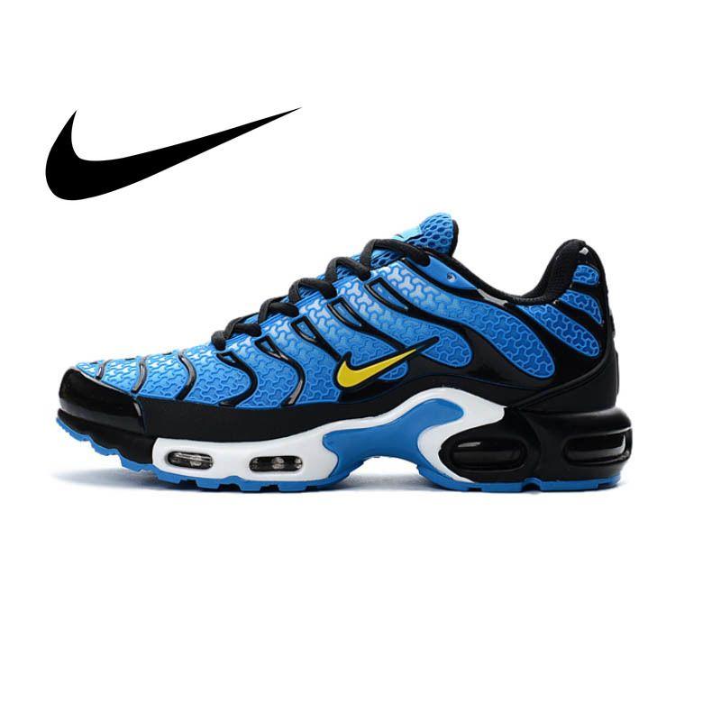 NIKE AIR MAX PLUS TN männer Atmungsaktiv laufschuhe Sport Sneakers Lace-Up plattform KPU material Tennis 40 -45