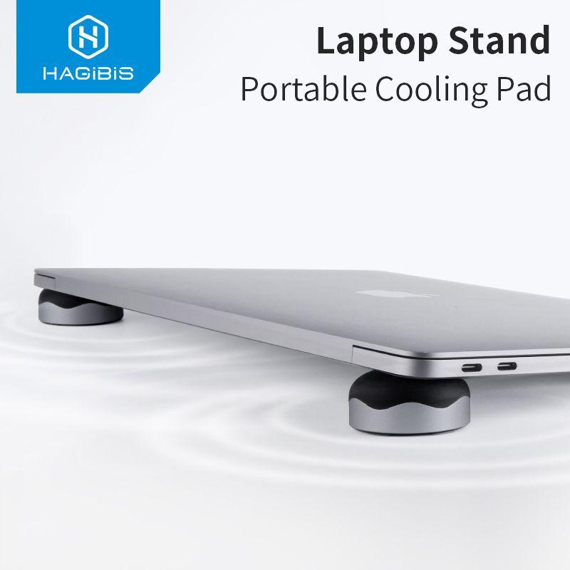 Support d'ordinateur Portable Hagibis coussin de refroidissement Portable magnétique pour ordinateur Portable MacBook