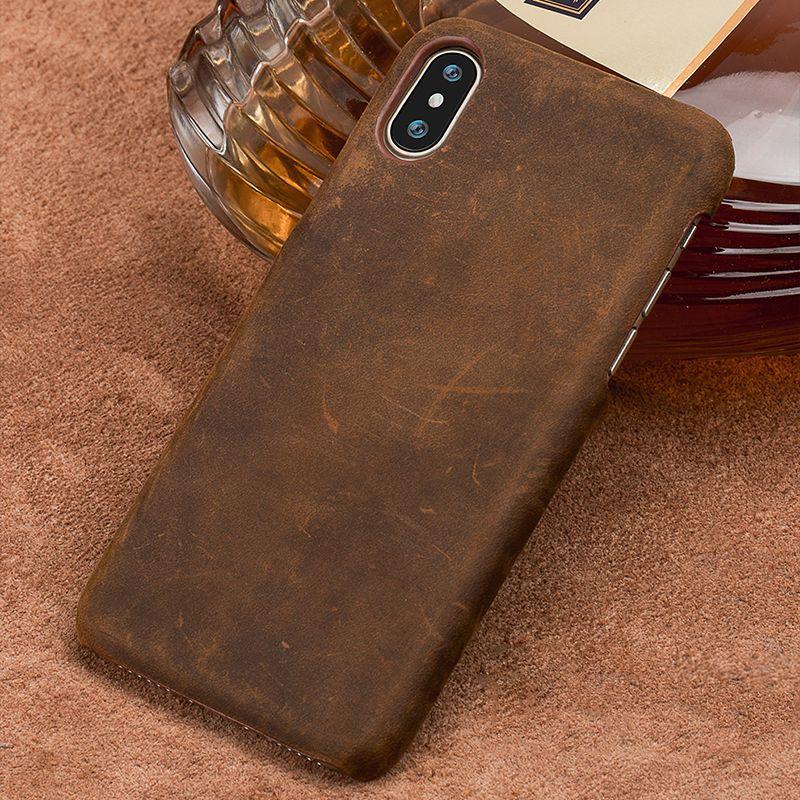 Genuine PULL-UP Leather Case for Xiomi Redmi K20 Pro 7 5 PLus 4x Note 7 Note 8 Retro Cover For mi 9 9T Pro 9SE 8 8 Lite 8 Pro A3