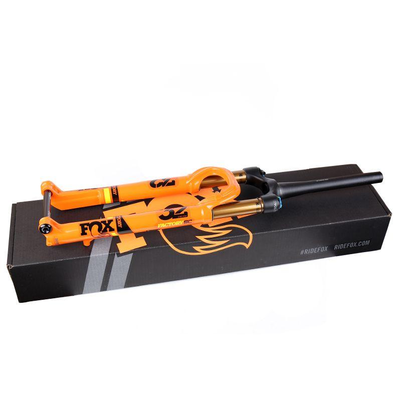 2020 FUCHS Fabrik Serie 32 FLOAT SC Schritt Cast Kashima 29 zoll 100mm FIT4 1,5 Verjüngt BOOST 110x 15mm Remote Lenker Lock Orange