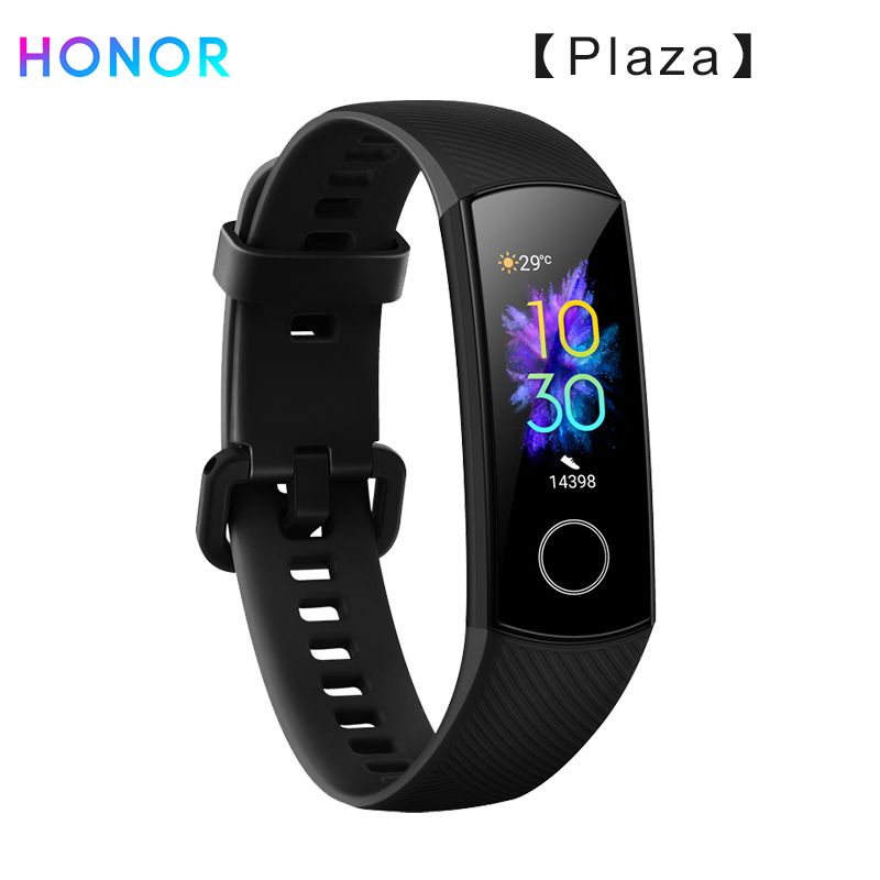 Huawei Honor Band 5 Smart Wristband Oximeter AMOLED Touch Color Screen Swim Posture Detect 5ATM Waterproof