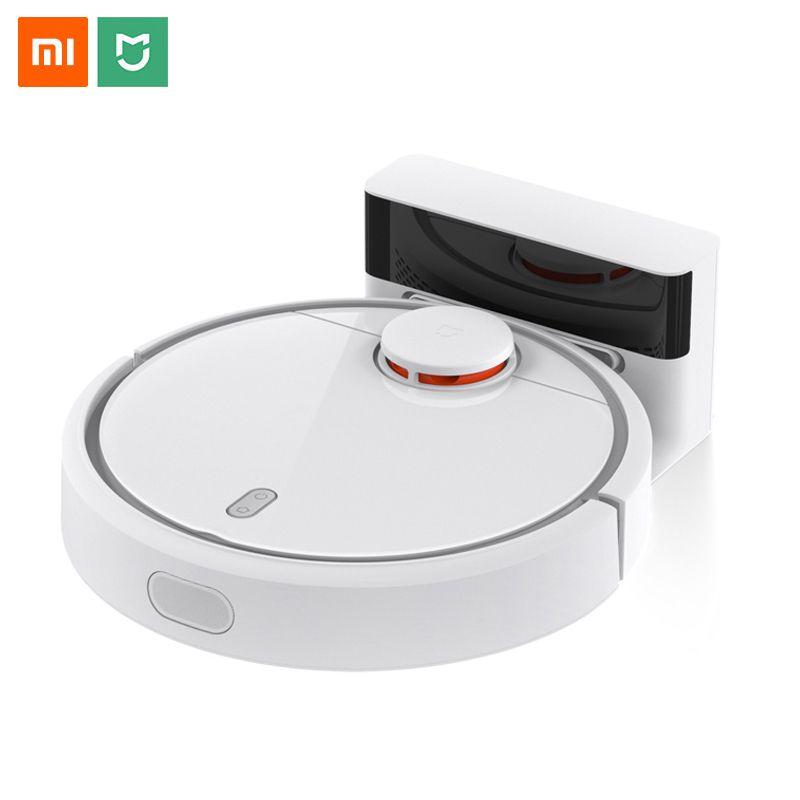 Version Mondiale Xiaomi Mi Robot Aspirateur Pour La Maison Balayage Automatique Intelligent Planifié WiFi Mijia App Contrôle Poussière Nettoyeur