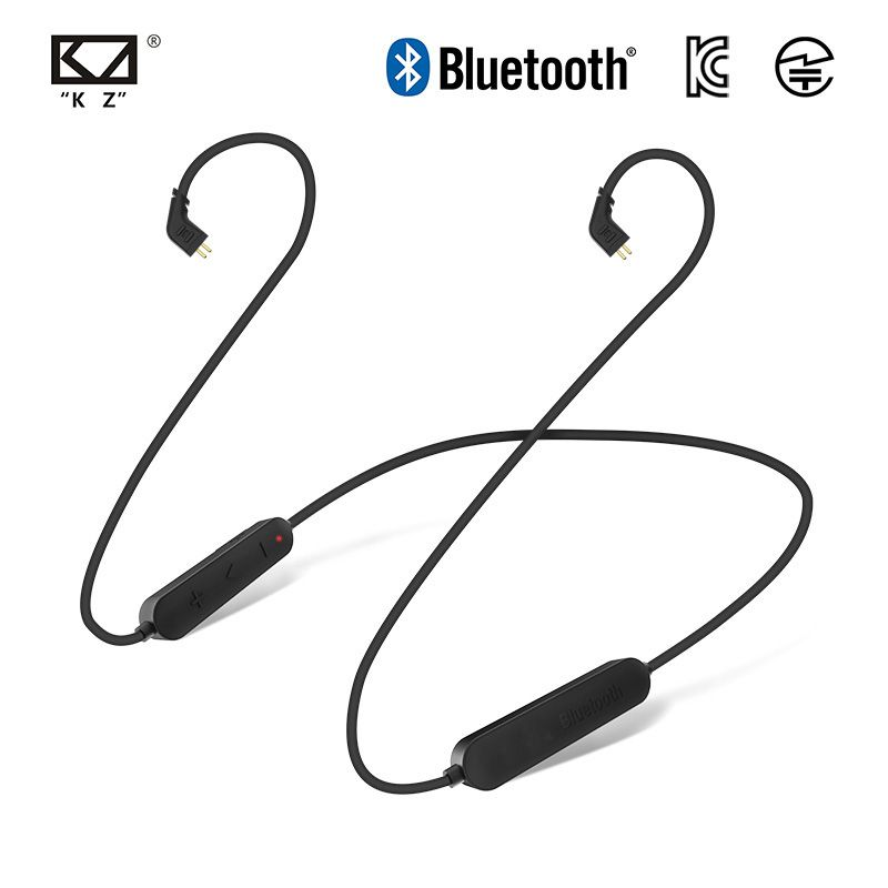 KZ ZS10 AS10 Wireless Aptx Bluetooth Cable KZ Upgrade Module Wire With 2PIN/MMCX Connector For KZ ZS10 Pro/ZS6/ZS5/ZS4/ZST/ZSX