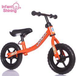 Bayi Bersinar Pedal Kurang Anak-anak Keseimbangan Sepeda Anak Skuter Anak Keseimbangan Sepeda Walker 10in untuk 2 ~ 6 Tahun anak-anak Berusia