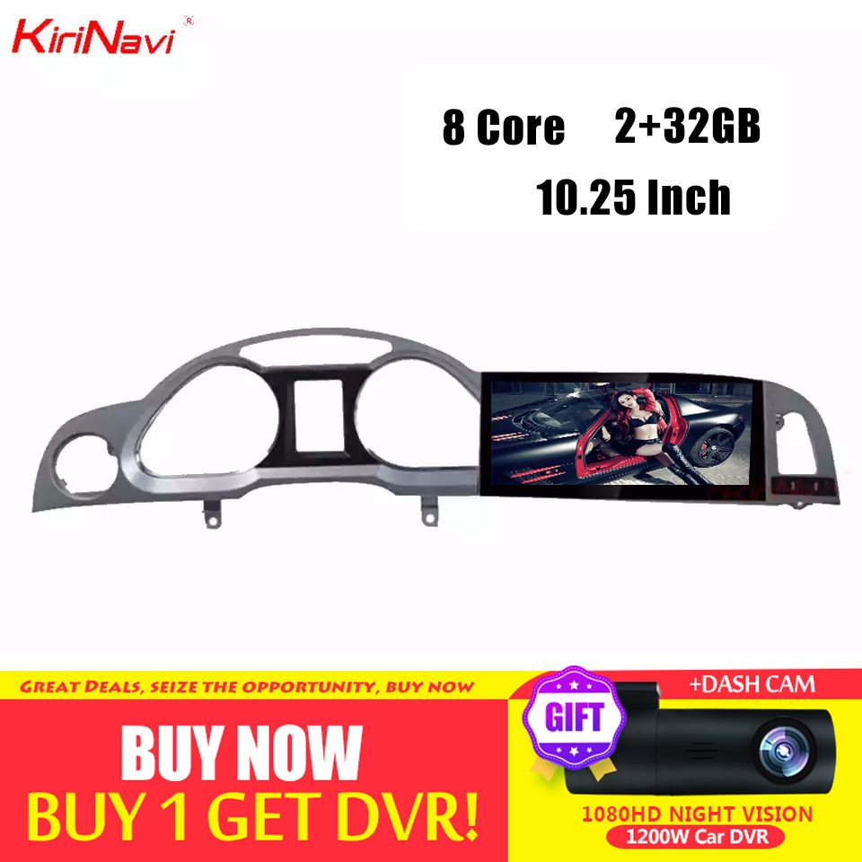 KiriNavi Android 7.1 Auto Radio Gps Für Audi A6 A6L Multimedia Auto Android Navigation DVD Player 2005-2011 8 Core bluetooth WiFi