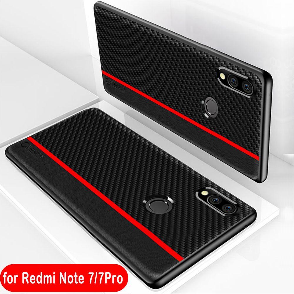 For Xiaomi Redmi Note 7 Case Fiber PU Leather Protect Cover for Xiaomi Mi 8 Lite 9 SE 9T Pro Redmi Note 8 7 5 K20 Pro 6A 7A Case