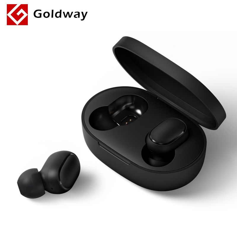 Xiaomi Redmi AirDots Wireless Bluetooth 5.0 Charging Earphone In-Ear stereo bass Earphones AI Control With Mic Handsfree Earbuds