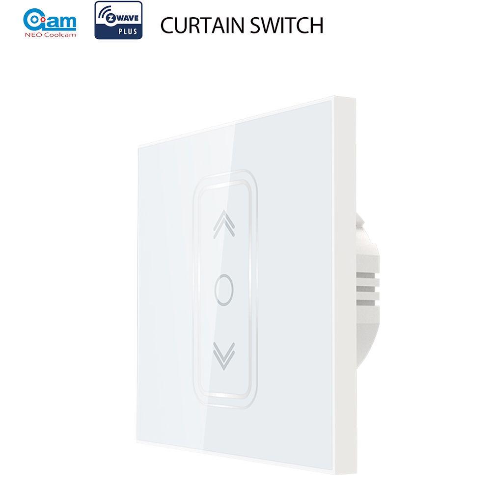 Néo Coolcam Smart Home Z Wave Plus commutateur de rideau intelligent pour rideau électrique motorisé volet roulant