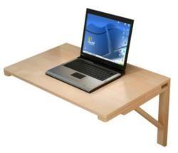 80*50 Cm Dinding Meja Laptop Kayu Solid Lipat Serbaguna Meja Belajar