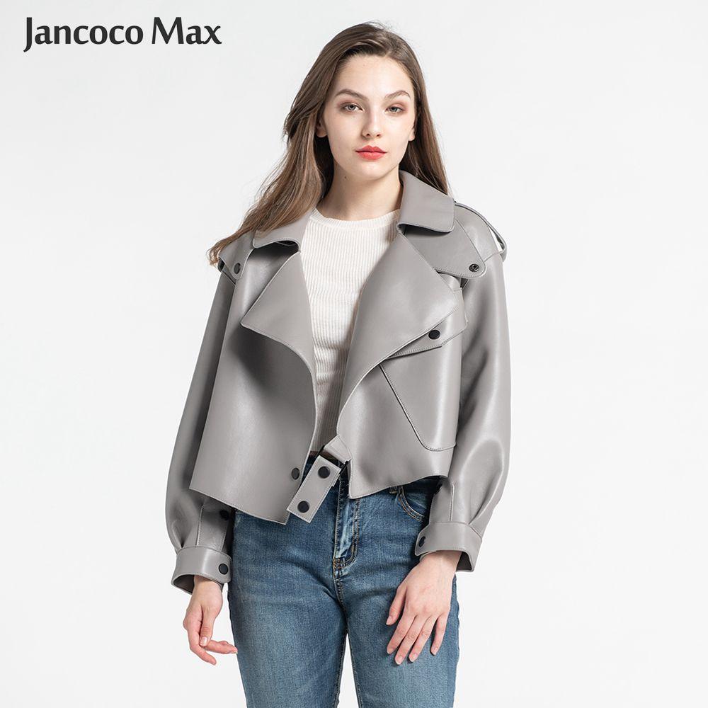 Frauen Echte Schaffell Leder Jacken Top Qualität Aus Echtem Leder Mantel Mode Jacken Dame Neue Ankunft S7547