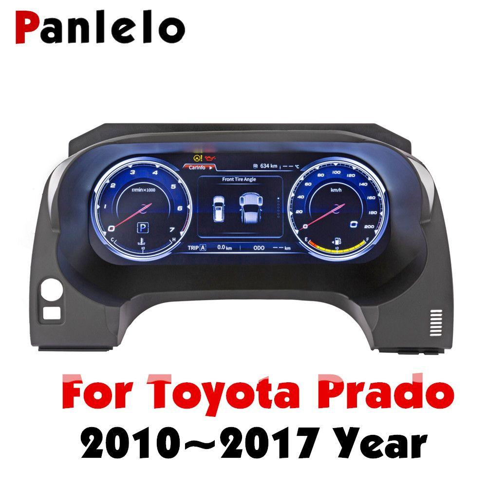 Panlelo Instrument Panel Ersatz Dashboard 12,3 zoll Navigator mit Voller Flüssigkeit Kristall Instrument für Toyota Prado SWC