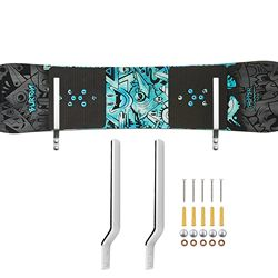 Snowboard Storage Rack Display Rough Wall Mounted Storage Rack - Fit most snowboards (No thicker than 30MM) -NO BOARD