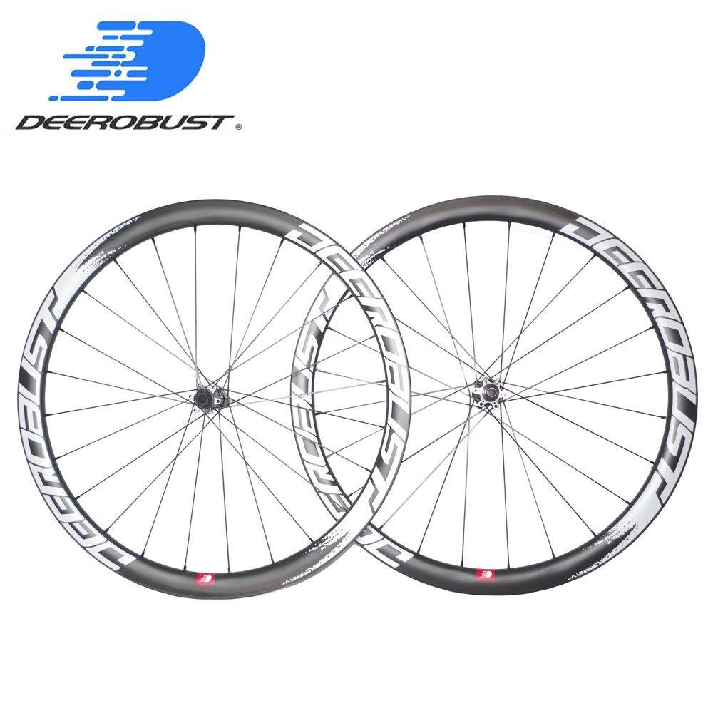 1303g Leichteste 700C 38mm tiefe 25mm Breite Klammer Straße Disc Cyclocross Fahrrad Carbon Laufradsatz CX Fahrrad Räder 24 28 löcher XDR