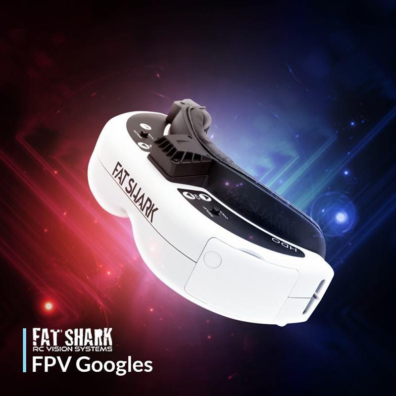 FatShark Dominator 4:3 OLED 960x720 Display FPV Video Brille Racing Drone FPV Schutzbrillen für RC Fernbedienung Spielzeug ersatzteil