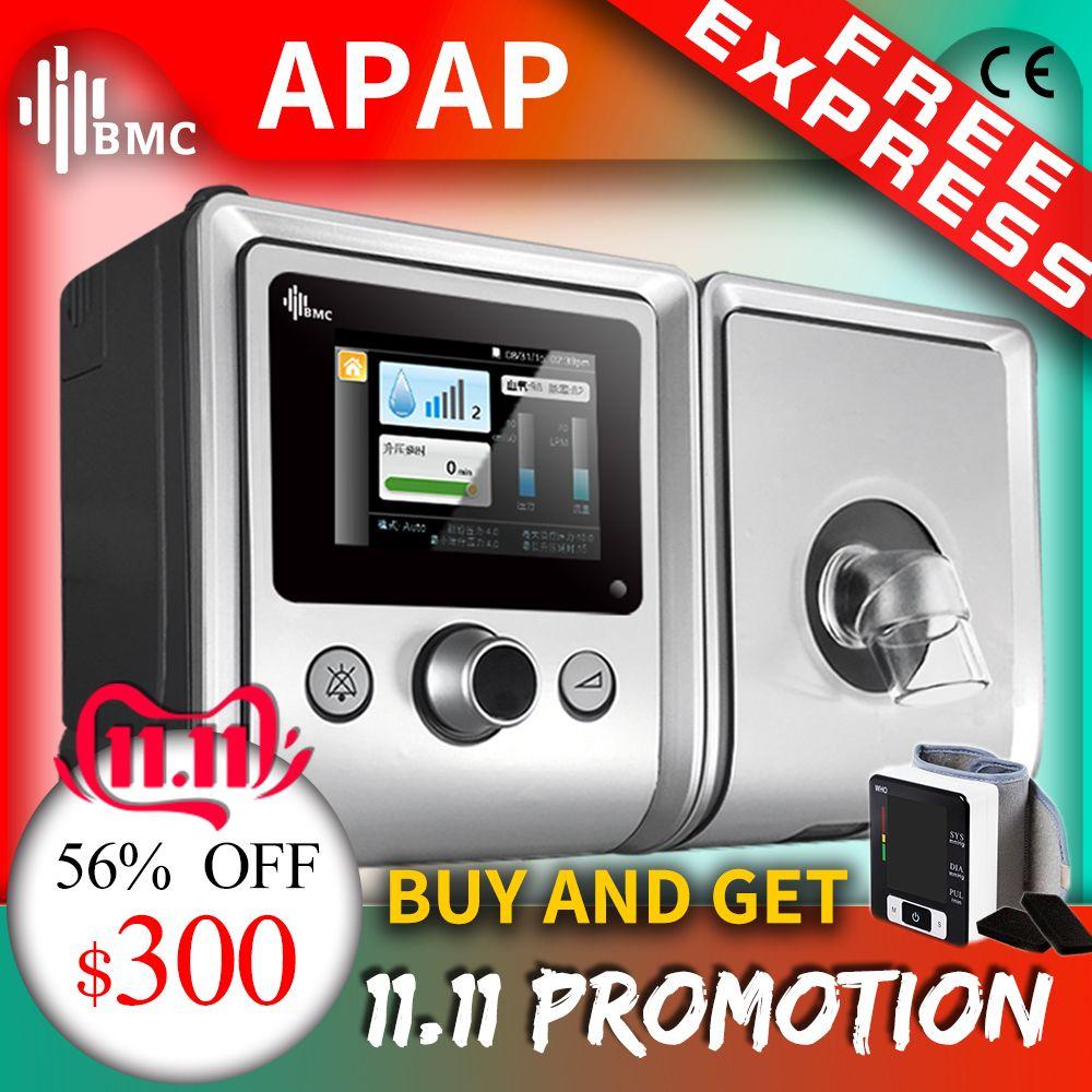 BMC GII Auto CPAP Maschine E-20A/AJ Medizinische Ausrüstung für Schlafapnoe vibrator Anti Schnarchen Ventilator mit Luftbefeuchter CPAP maske