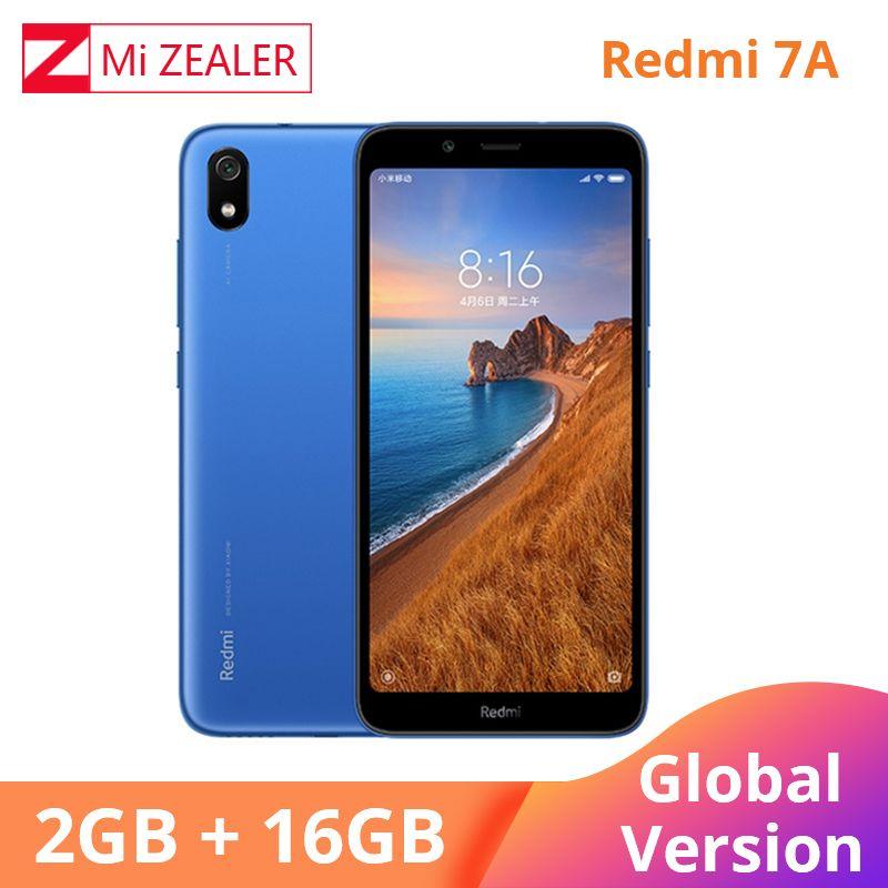 Original Global Version Redmi 7A 2GB 16GB Mobile Phone Snapdargon 439 Octa Core 5.45