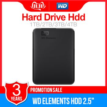 Western Digital WD Elements Portable HDD External hdd 1TB  2TB HDD 2.5