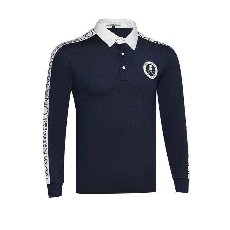 Nouvelle chemise de Golf dernière marque d'été. Chemise de sport de Golf LONA manches complètes T-Shirt de Golf anti-boulochage Cooyute livraison gratuite