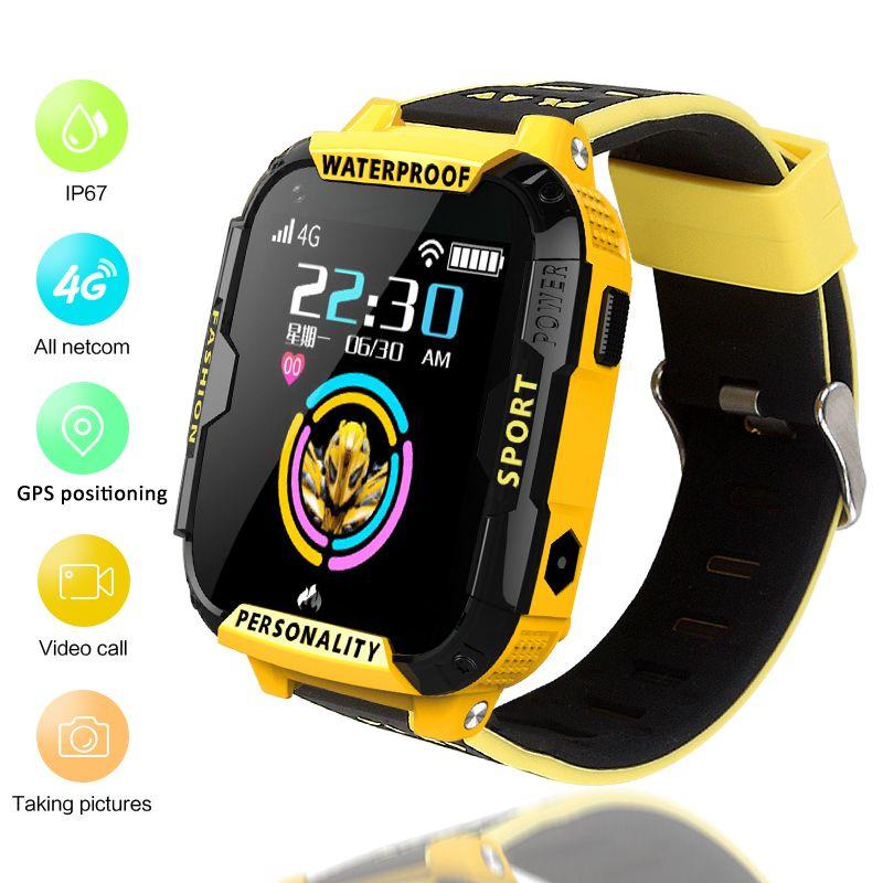 LIGE 4G Smart Uhr Für Kid GPS Positioning Tracker Wifi Verbindung Video Call SOS EINE Taste Helfen Baby Smart uhr Junge Mädchen + Box