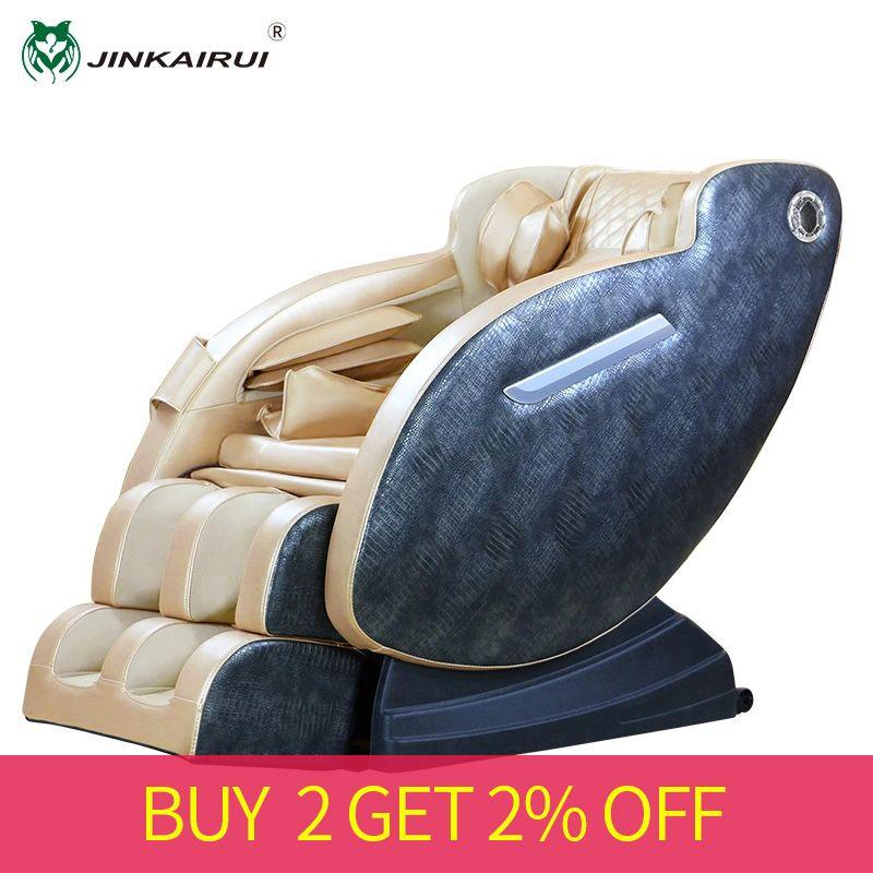 JinKaiRui luxuriöse Massage Stuhl Hause Elektrische Automatische Volle Körper Kneten Shiatsu Multi-funktion Kapsel Massager