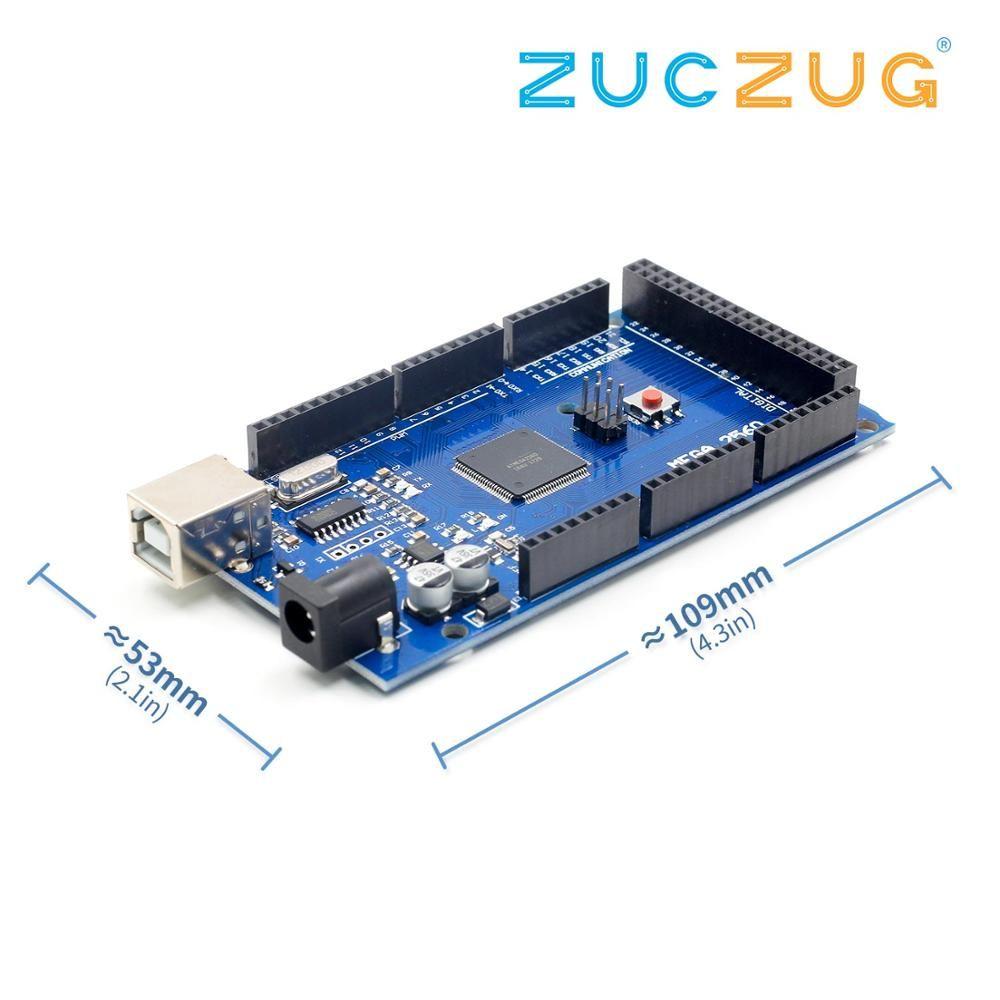 MEGA2560 R3 MEGA 2560 R3 ATmega2560-16AU CH340G carte de développement de carte USB AVR pour arduino