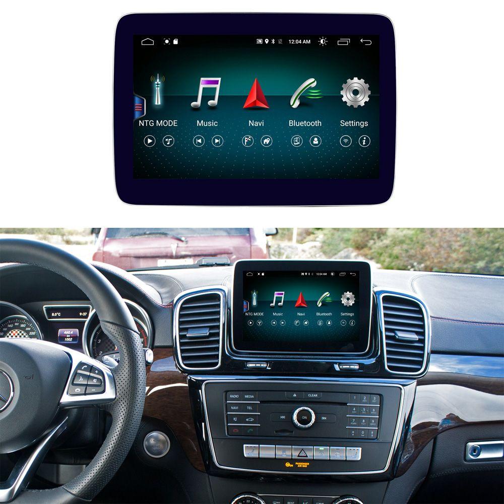 8,4 zoll 4 + 64G Android Display für Mercedes Benz ML GL W166 X166 Auto Radio Bildschirm GPS Navigation bluetooth Kopf-UP Touchscreen