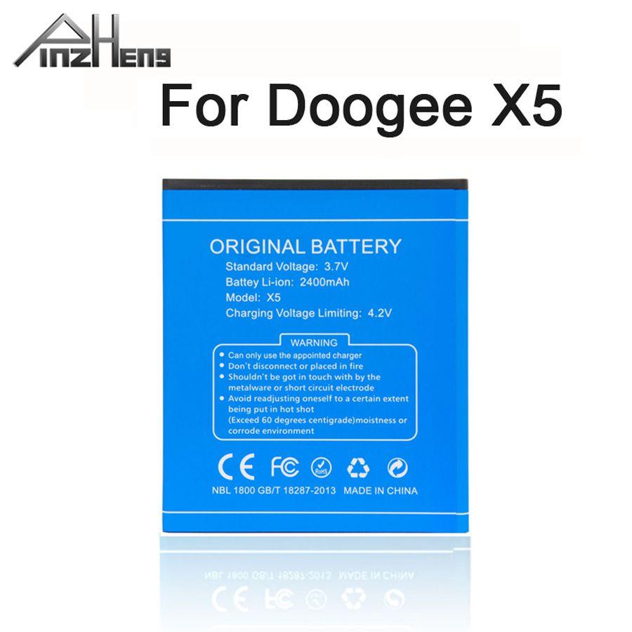 PINZHENG 100% batterie de téléphone portable d'origine pour Doogee X5 X5S X5 Pro batterie de remplacement de haute qualité avec cadeau