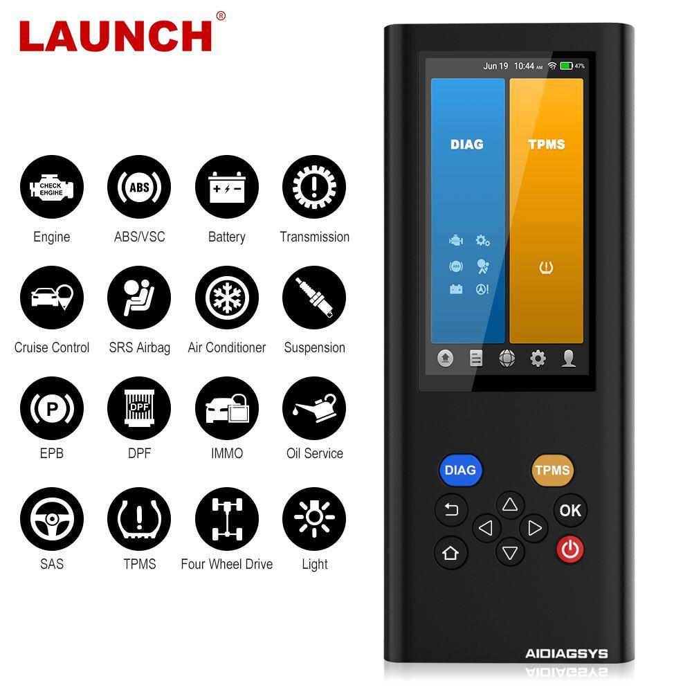Starten X431 Creader 5001 Volle OBD2 Automotive Scanner CR5001 Auto Diagnose Werkzeug OBDII OBD 2 Code Reader Motor Scanner cr5001