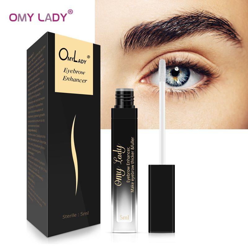 OMY DAME Augenbrauen Enhancer Rising Augenbrauen Wachstum Serum Wimpern Wachstum Make-Up Augenbraue Länger Dicker Kosmetik bilden Werkzeug