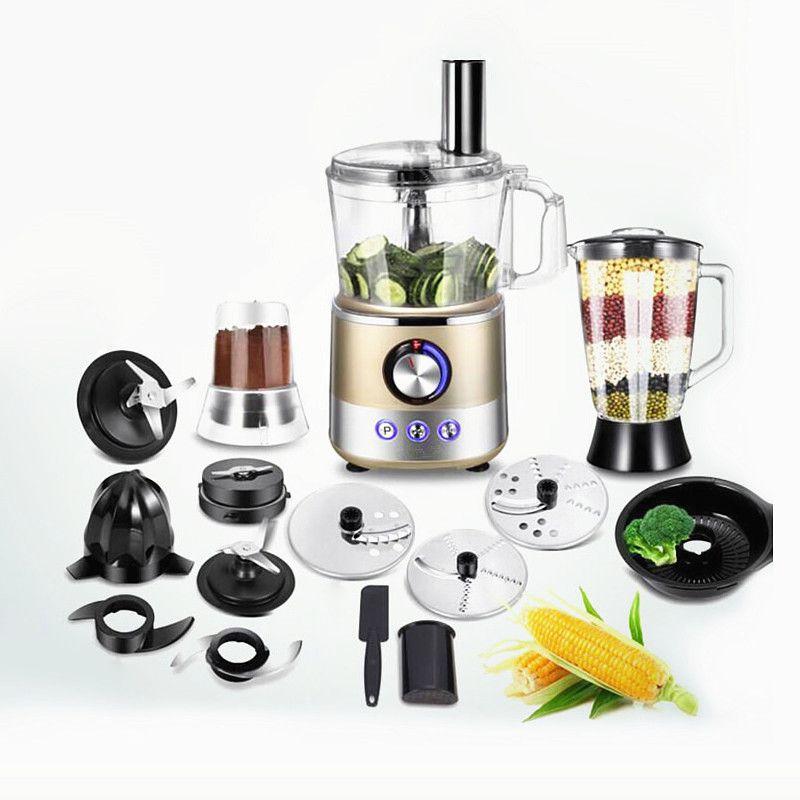 220V Multifunktionale Voll-automatische Elektrische Entsafter Obst Entsafter Maschine Grinder Mixer Gemüse Slicer Pulver Grinder EU/AU /UK