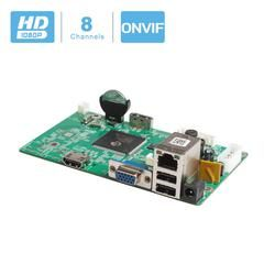 8CH CCTV NVR Board 1080P HI3520D Security NVR Module 8CH 1080P / 12CH 960P XMEYE P2P Mobile Monitoring Cloud Viewing