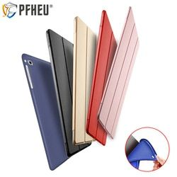New silicone soft cover for 2017/2018 new iPad 9.7A1822/A1893 for ipad  Air 1/2 with smart wake/sleep function bracket case