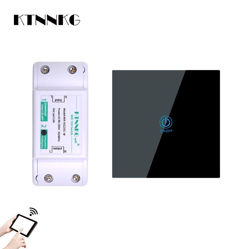 100 sätze von touch fernbedienung panel mit 220V drahtlose schalter