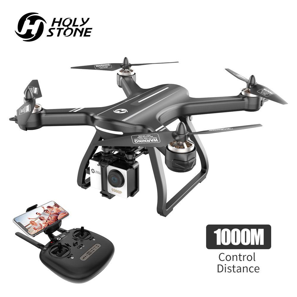 Heiligen Stein HS700 GPS Drone 5G 1080P Kamera 1000 meter Flug Bürstenlosen Drone Profissional Motor WIFI FPV GPS selfie Quadcopter