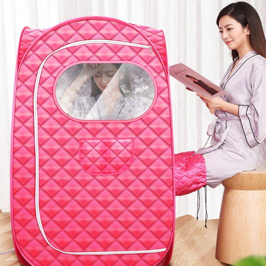 Sauna Generator Für Sauna SPA größere Zelt Tragbare DAMPF BAD Verlieren Gewicht Detox Therapie Dampf Falten Sauna Kabine