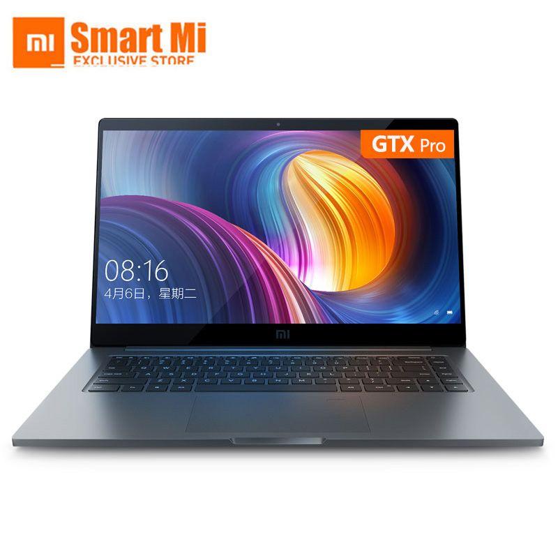 Xiao mi mi Laptop Air Pro 15,6 Zoll GTX 1050 Max-Q Notebook Intel Core i7 8550U CPU NVIDIA 16GB 256GB Fingerprint Windows 10