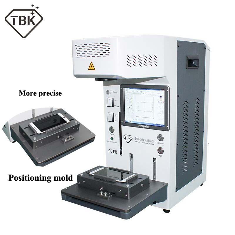 Auto TBK958A DIY drucker CNC Laser Gravur Maschine LCD Laser Reparatur Maschine Für iPhone 11 X XS XSMax 8 8 + zurück abdeckung separater