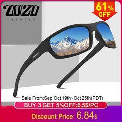 20/20 Optical Brand Design New Polarized Sunglasses Men Fashion Male Eyewear Sun Glasses Travel Fishing Oculos PL66 No Box