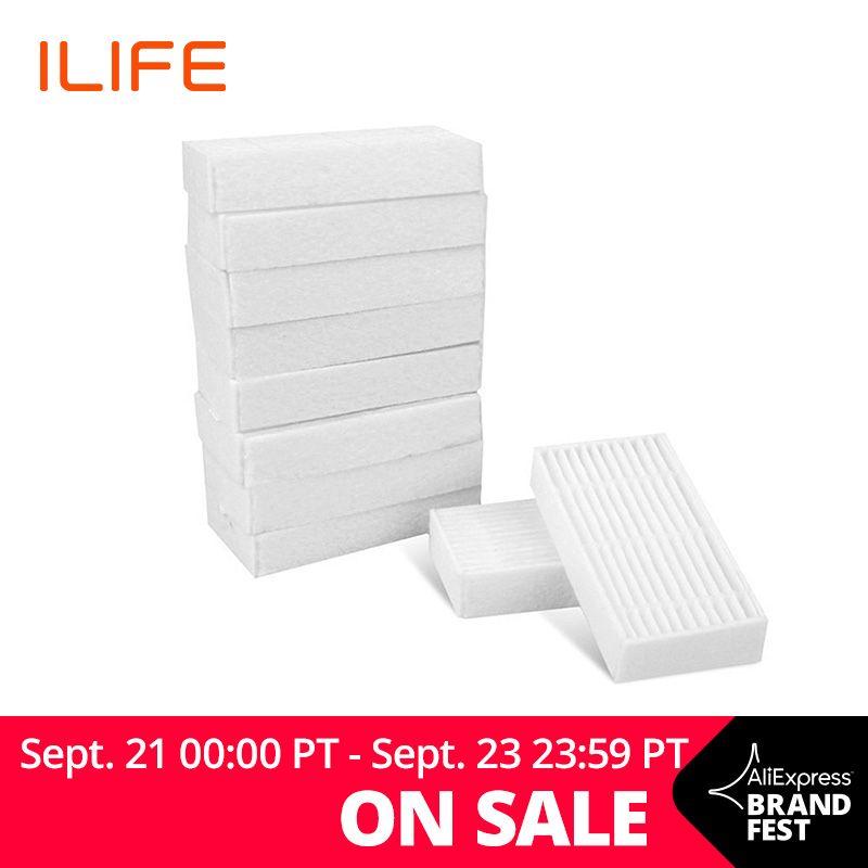 ILIFE V5s Pro V3s Pro 10Pcs Filter Pack Spare Parts Replacement Kit