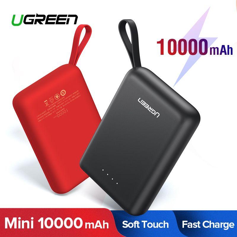 Ugreen batterie externe pour Xiaomi Mini Pover Bank 10000mAh Portable chargeur de batterie de téléphone externe pour iPhone X Huawei P20 appauvrbank