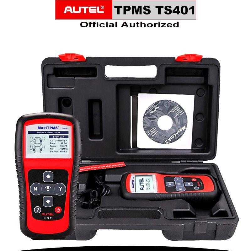 AUTEL MaxiTPMS TS401 TPMS Diagnose Werkzeug Programmierung Reifen Druck MX-Sensor obd2 Aktivator Decoder Automotive Auto Zubehör