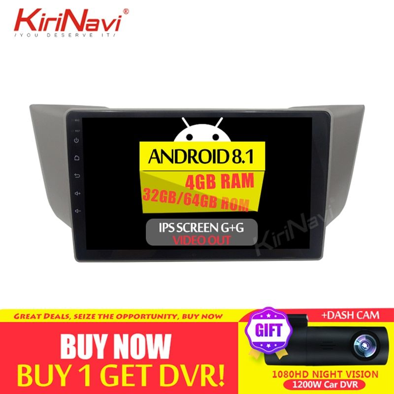 Kirinavi Auto Radio Player Bildschirm Android 8.1 für Lexus RX 400 H