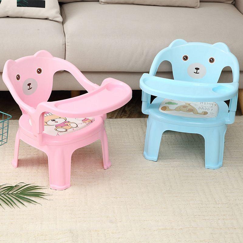 Maternelle bébé enfants chaises d'alimentation bébé sièges et canapé dessin animé anti-dérapant bébé sécurité chaises de Table