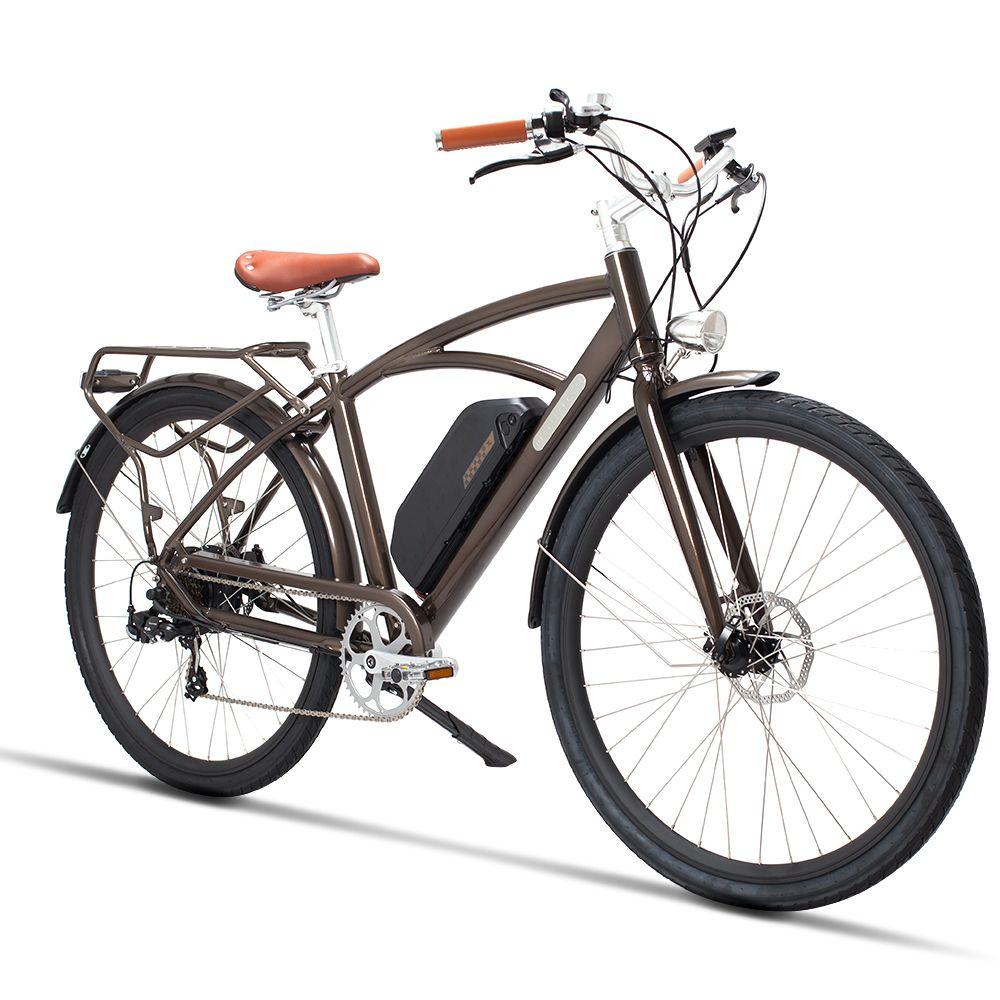 26 zoll elektrische fahrrad 48V500W high speed motor elektrische straße fahrrad Retro ebike leichte rahmen Bequem sattel straße