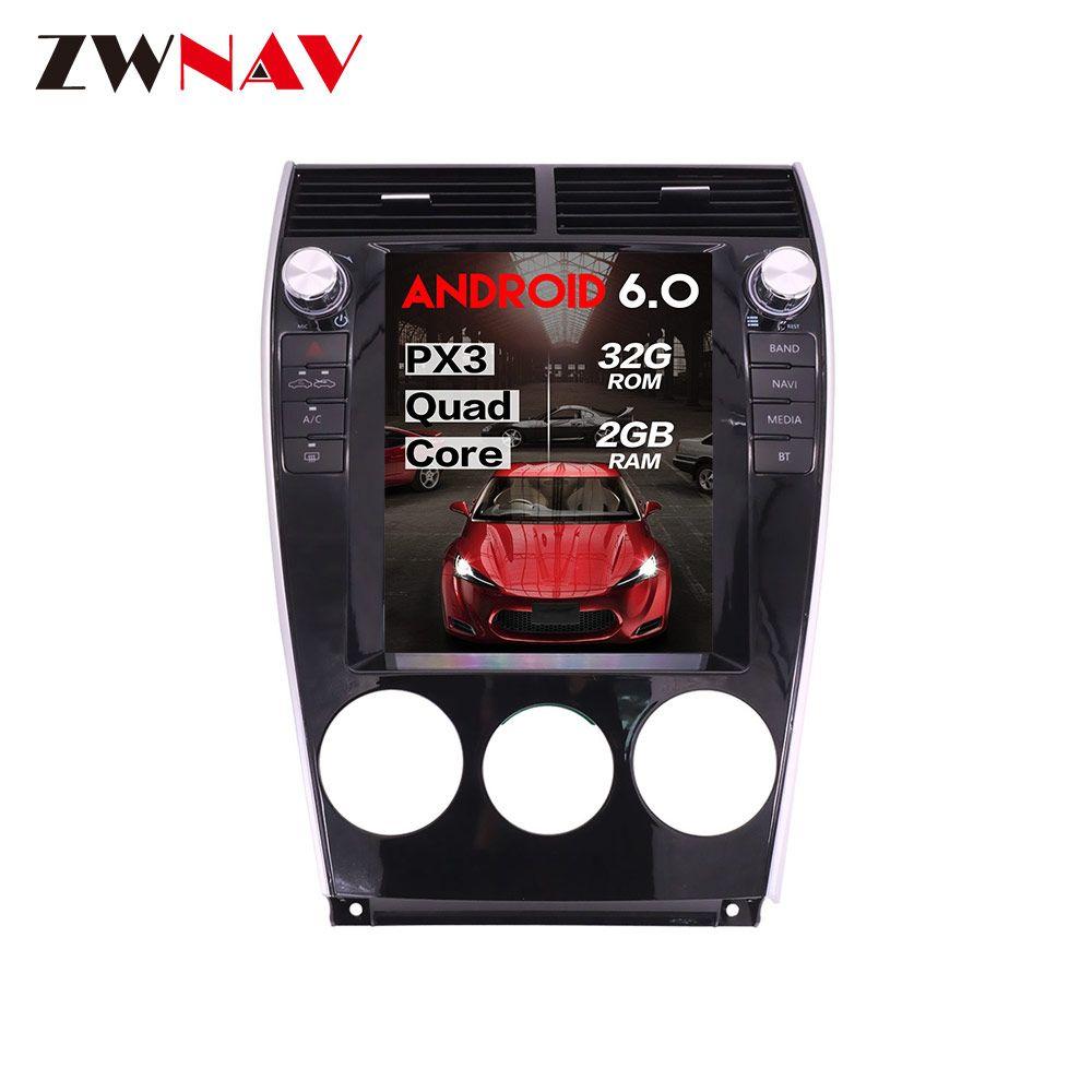 Vertikale bildschirm tesla stil Android 6.0 Auto DVD player GPS Navigation Für mazda 6 2002-2015 BT multimedia radio stereo kopf einheit