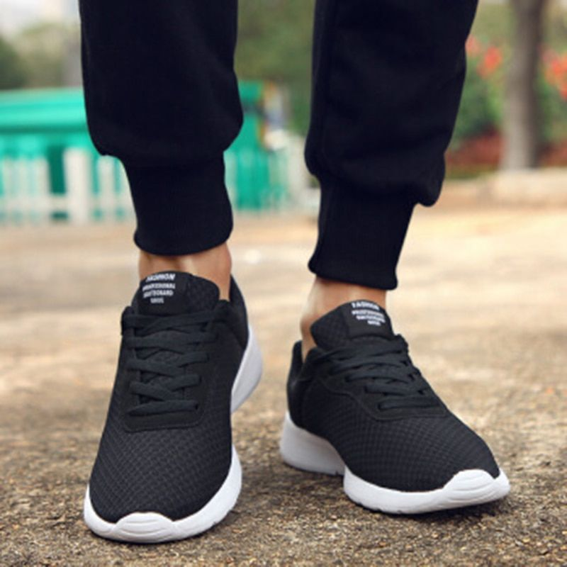 Shoes Men Tennis Sneakers Lightweight Krasovki Male Shoes Breathable Men Casual Shoes Trainers Mans Footwear Plus Size 35-47